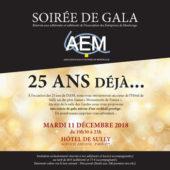 Les 25 ans de l'AEM