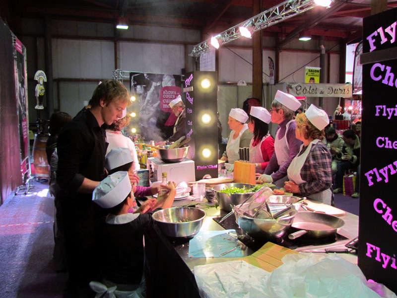 cours de cuisine Flyin'Chef & Damien Després